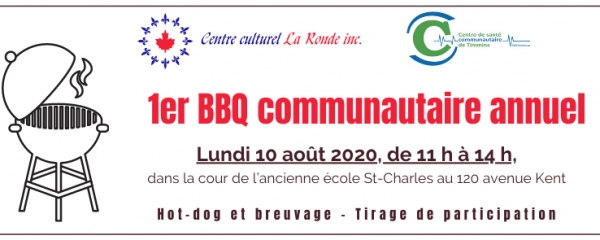 Invitation 1er BBQ communautaire annuel